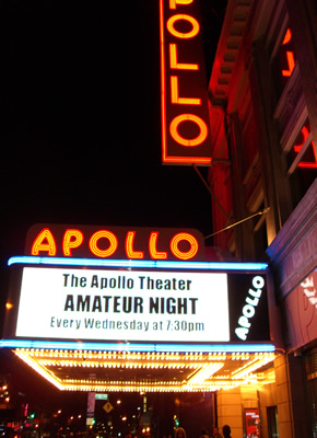 Apollo Theatre Post Card