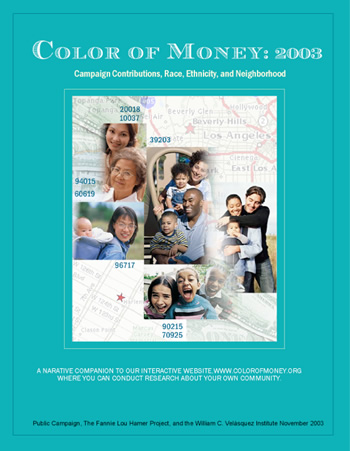 Color Of Money Book Cover